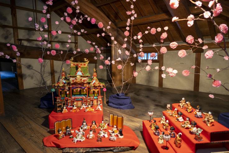 讃州井筒屋敷母屋のひな人形8