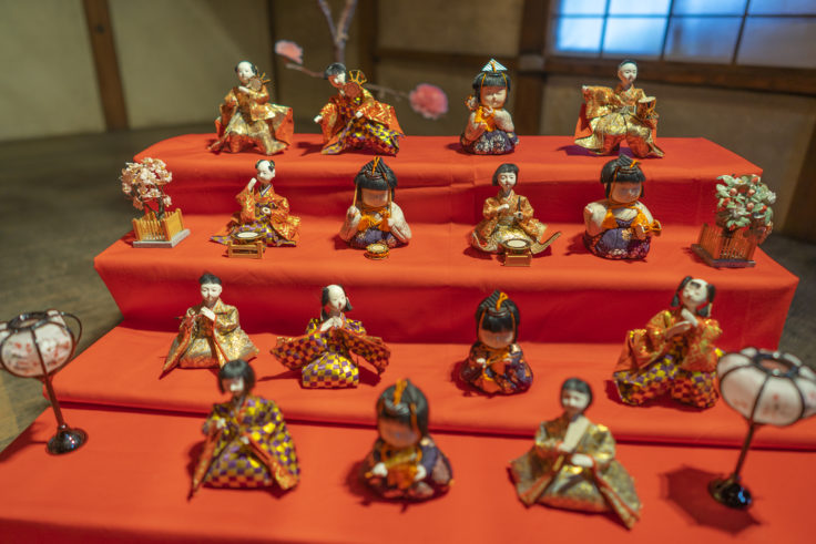 讃州井筒屋敷母屋のひな人形10