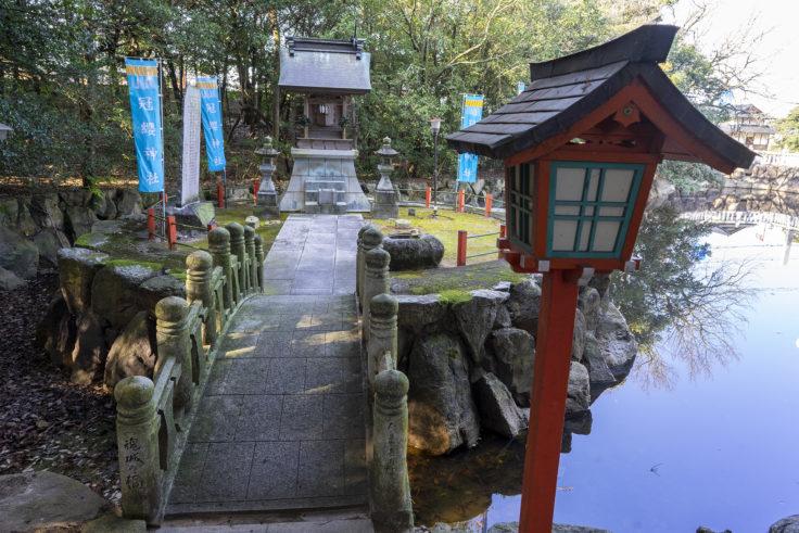 冠纓神社の厳島神社