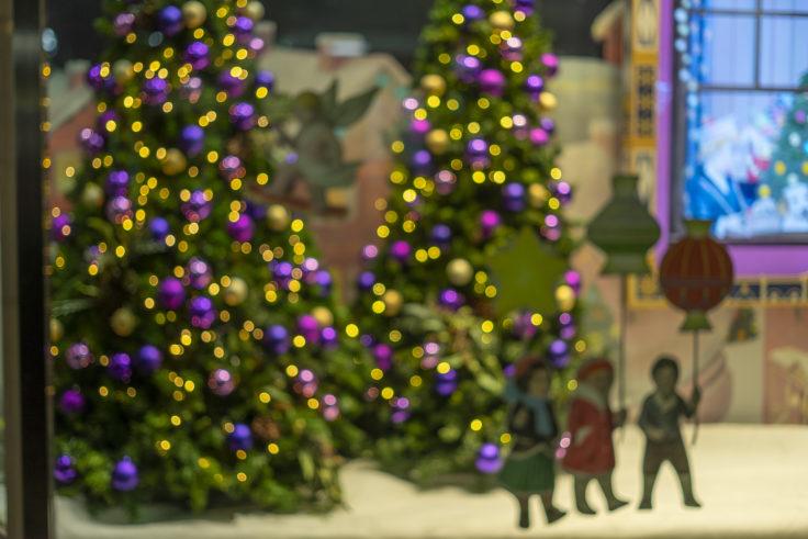 高松三越前のクリスマスツリー