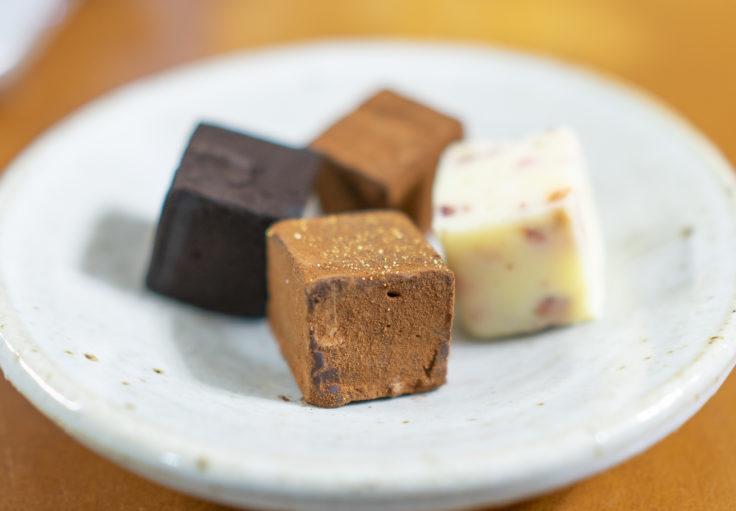 シルスマリアの生チョコレート