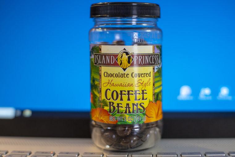 アイランドプリンセスのコーヒービーンズ
