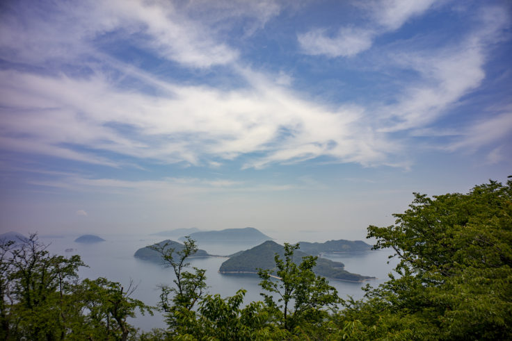紫雲出山展望台からの瀬戸内海