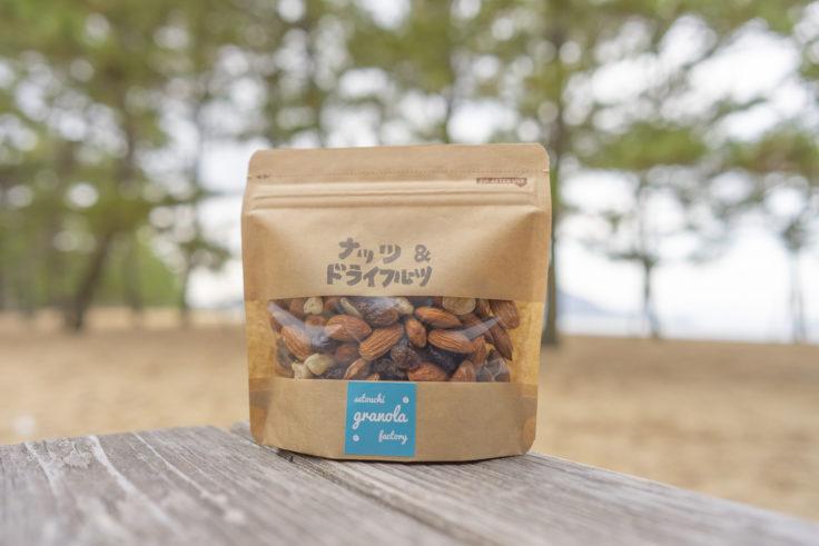 瀬戸内グラノーラファクトリーのナッツ&ドライフルーツ