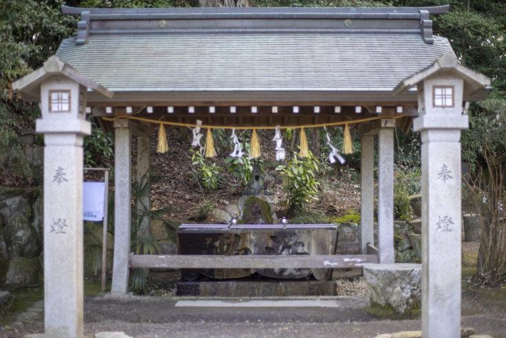 宇佐神社の手水