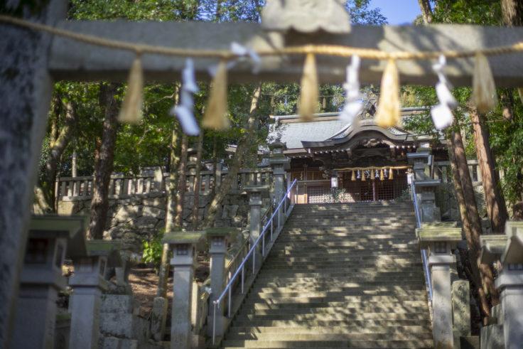 宇佐神社の階段