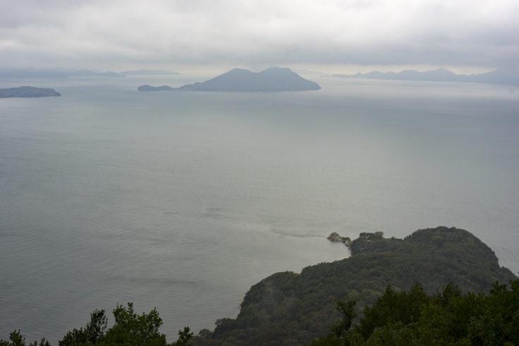 屋島遊鶴亭から見た景色