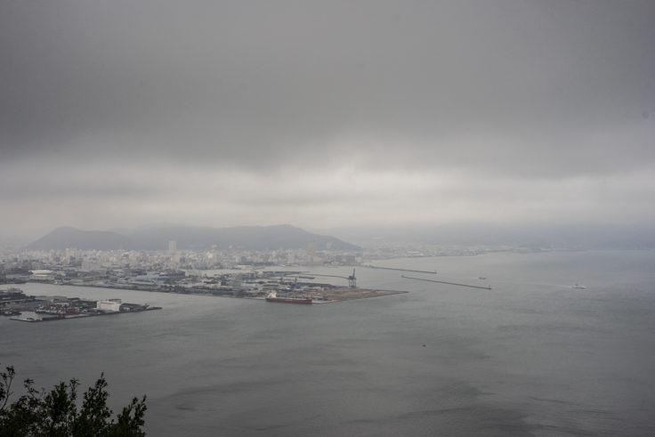 屋島から見たサンポート