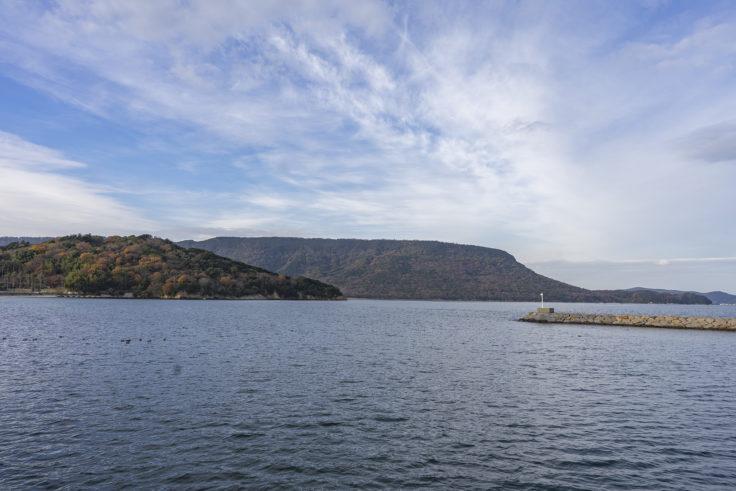 城岬公園から見た屋島