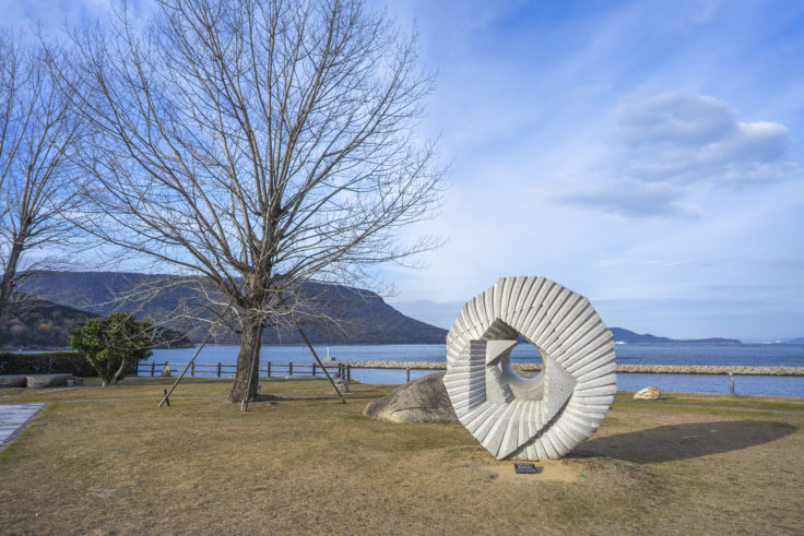 城岬公園の彫刻