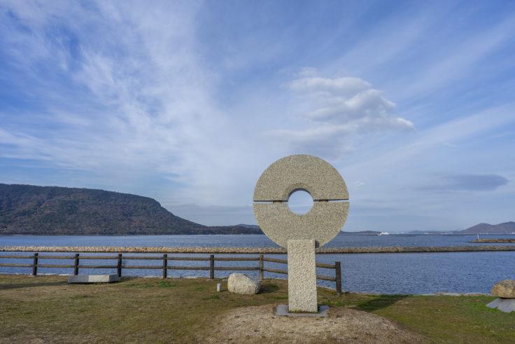 城岬公園の彫刻4
