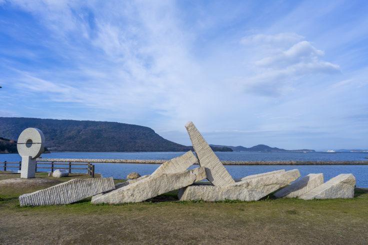 城岬公園の彫刻5