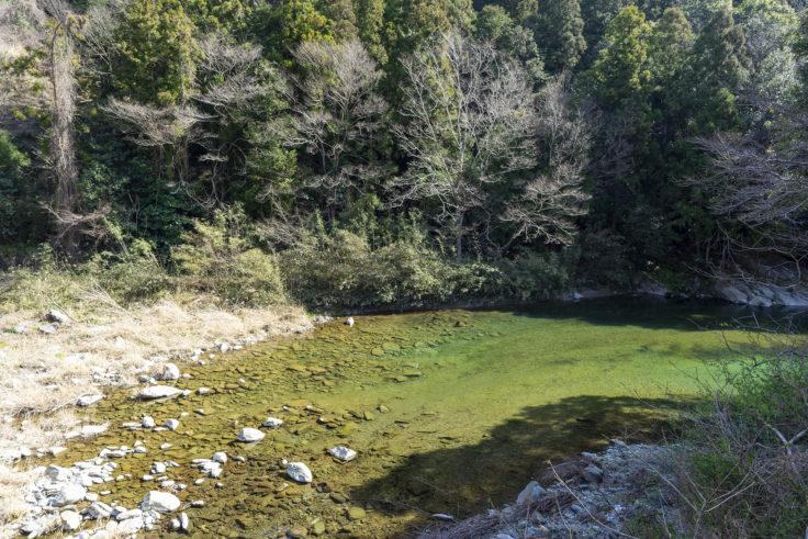 ふいご温泉の川田川3