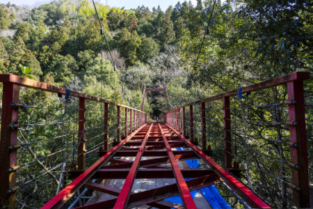 工事中の鞴橋