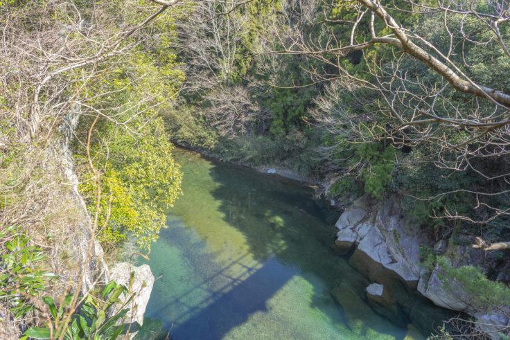 鞴橋から見た川田川