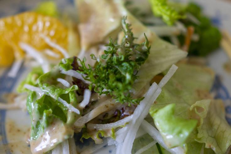 餃子工房古谷のワサビ菜