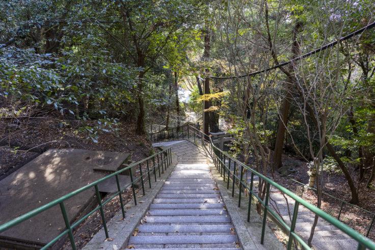 八栗寺階段