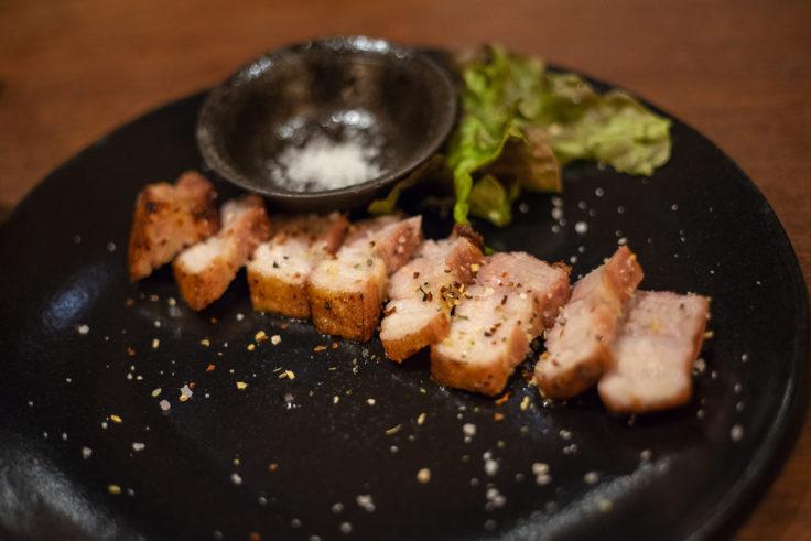 四角家餃子本舗のたかちゃんの焼豚