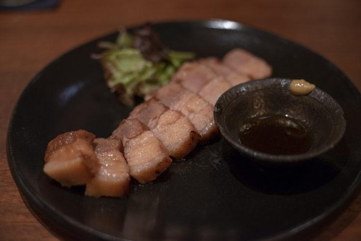 四角家餃子本舗のたかちゃんの焼豚しょうゆ