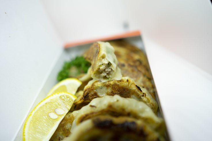 中国料理北京の瀬戸内レモン餃子中身