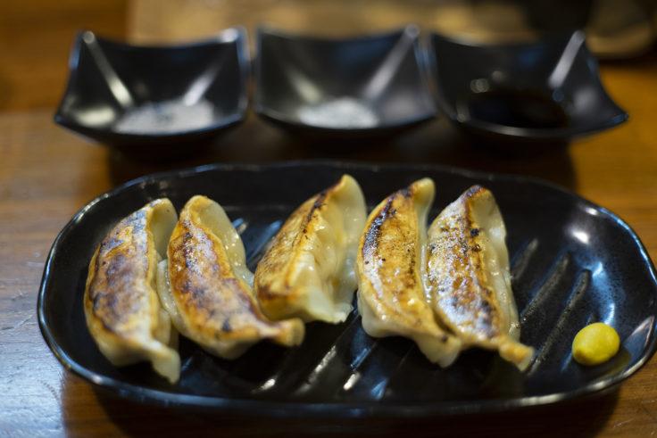 麺屋軌跡の宇都宮餃子
