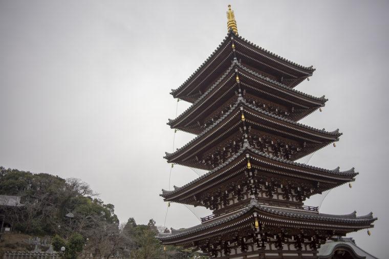 法然寺五重塔
