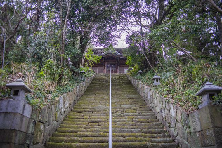 法然寺来迎堂までの階段