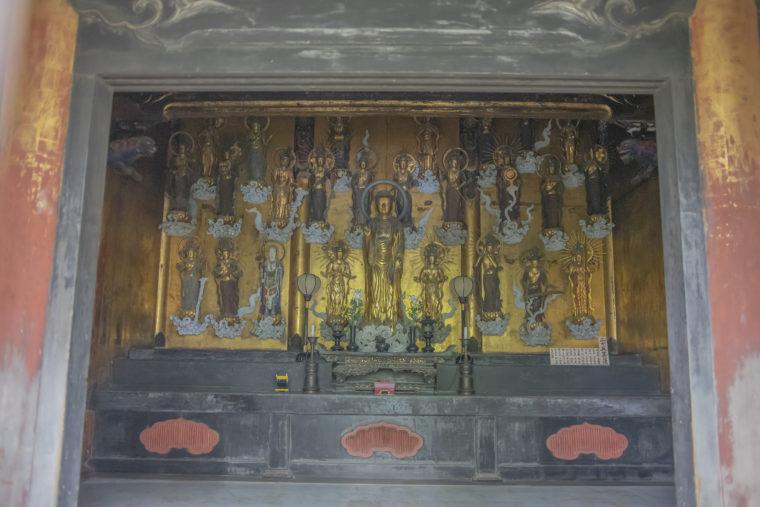 法然寺阿弥陀如来と二十五菩薩像