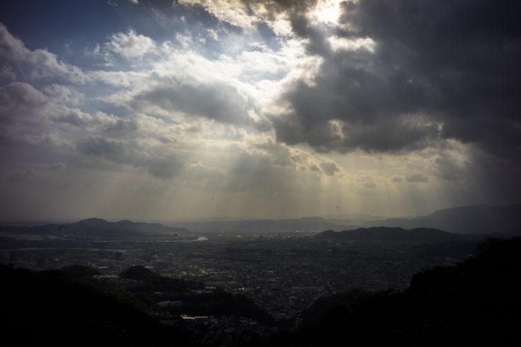 眉山からの風景