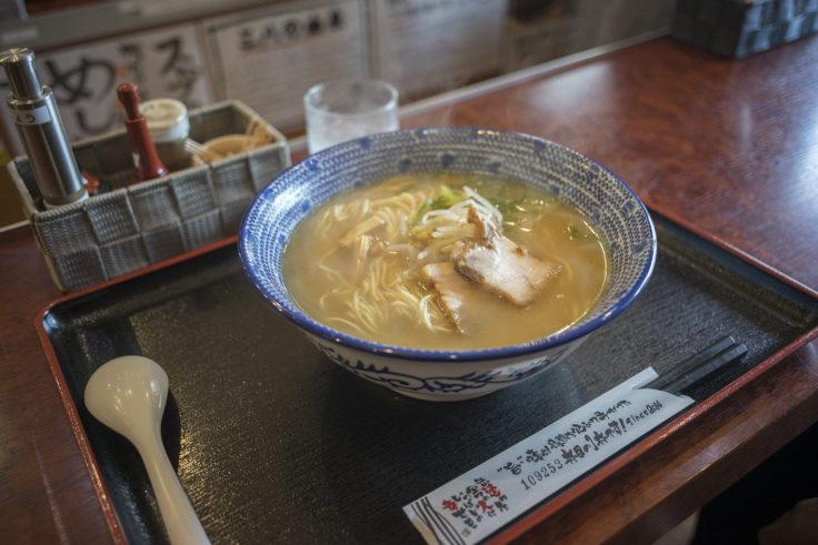 三八製麺所はじめの元祖支那そば