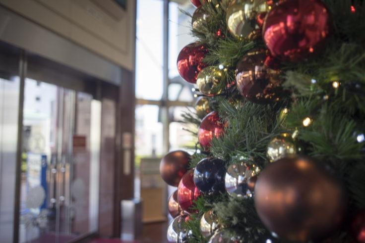 徳島そごうのクリスマスツリー