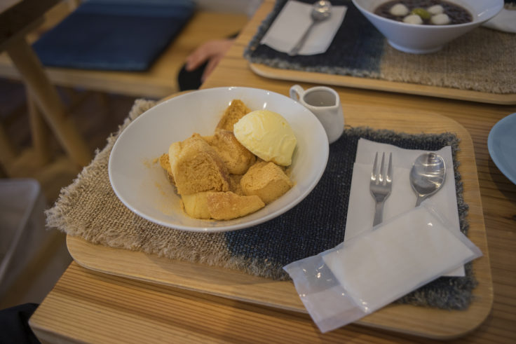 マザーズ徳島駅前店のきな粉のパンスイーツ