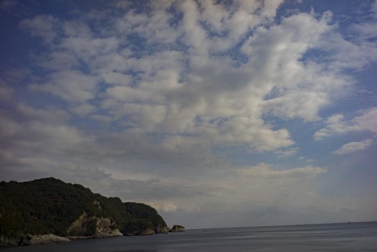 日峯大神子公園海岸