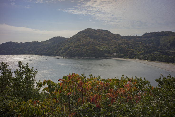日峯大神子公園散策コースからの眺望