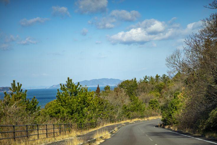 大串公園への道
