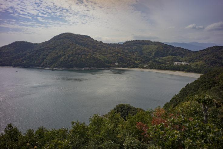 日峯大神子公園南望の広場からの眺め