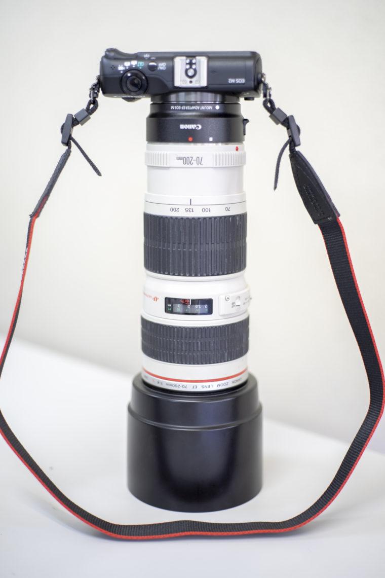 EOS M2とEF70-200