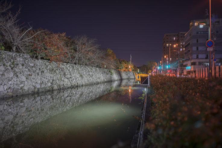 徳島中央公園外堀