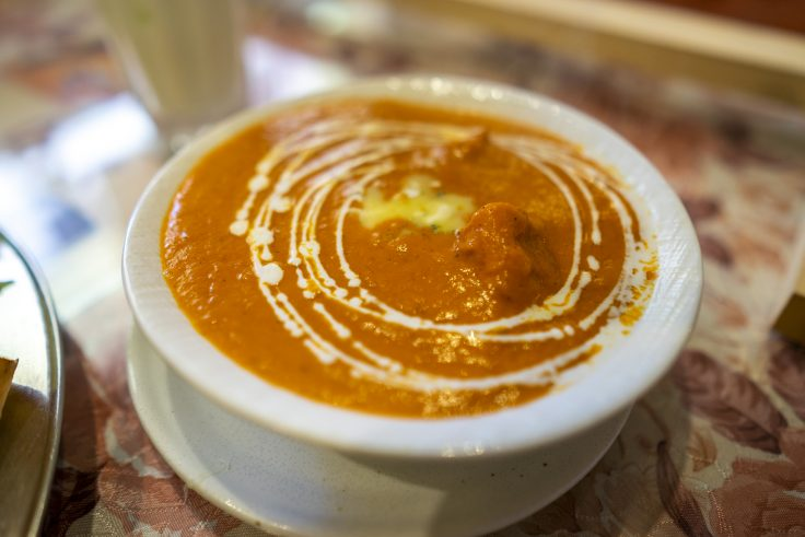 Pujaのバターチキンカレー