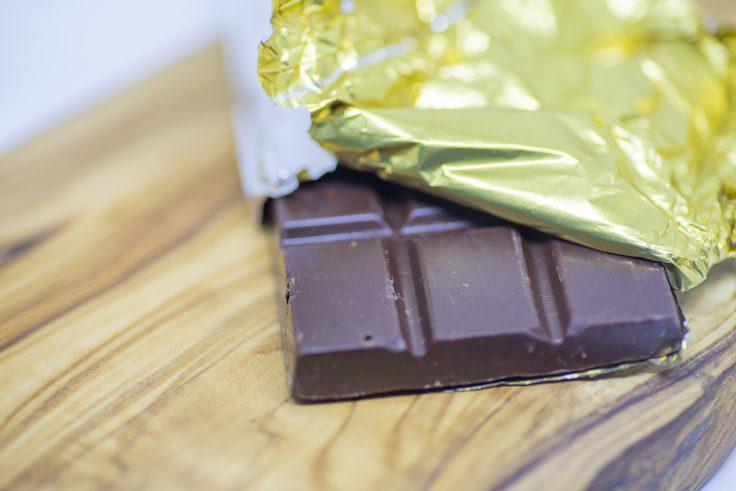 スローウォーターカフェのチョコレート