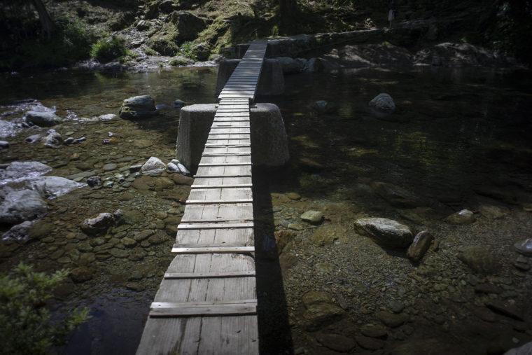 馬立川の沈下橋