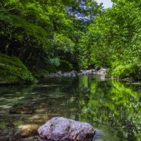 馬立川の景観