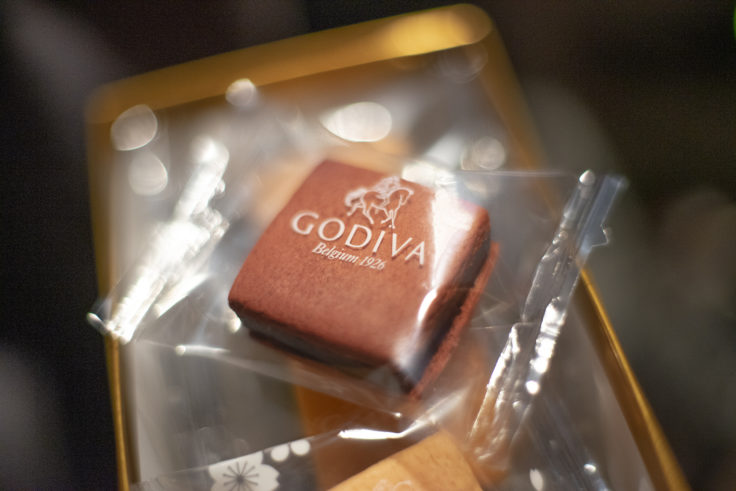 GODIVAのサブレショコラ