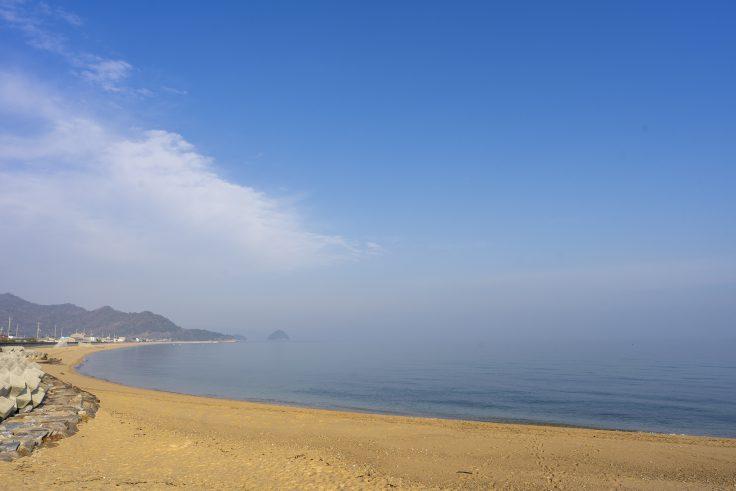 横内海岸前景