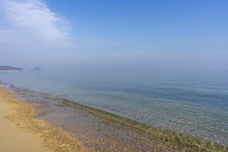 横内海岸の砂浜4