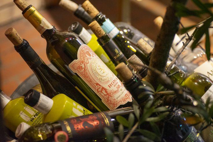 高松夜景スナップワインの瓶