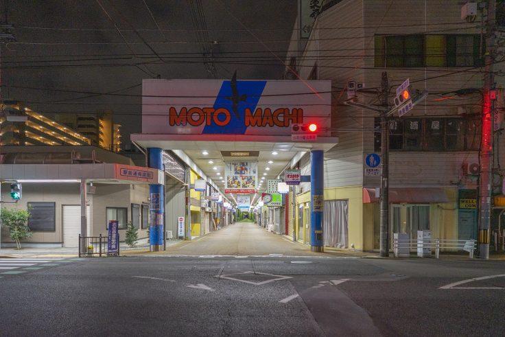 坂出市元町商店街入口