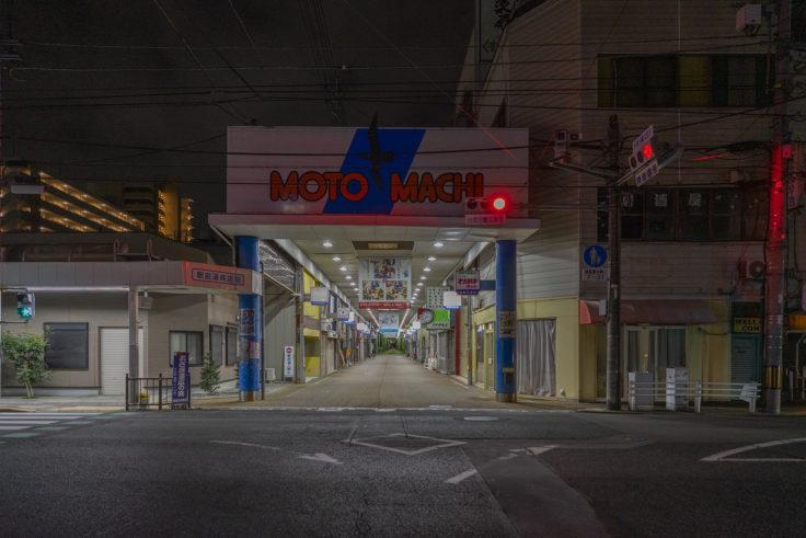 坂出元町商店街入口
