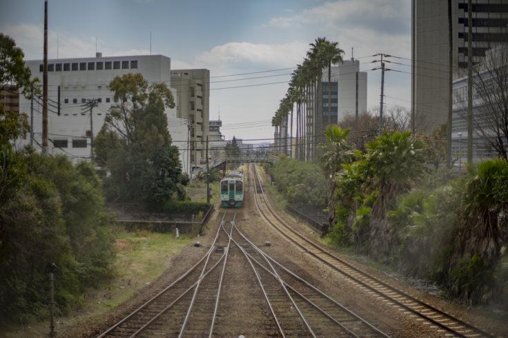 徳島駅の汽車