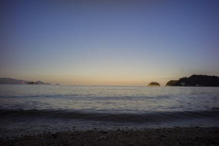 クアパーク津田の海岸